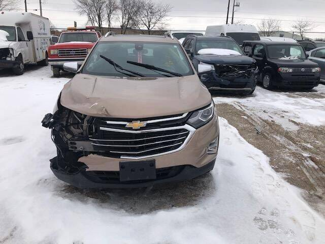 2018 Chevrolet Equinox for sale at CousineauCrashed.com in Weston WI