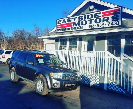 2009 Ford Escape for sale at EASTSIDE MOTORS in Tulsa OK