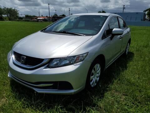 2015 Honda Civic for sale at VC Auto Sales in Miami FL