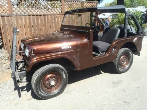 1962 Willys Jeep for sale at Classic Car Deals in Cadillac MI
