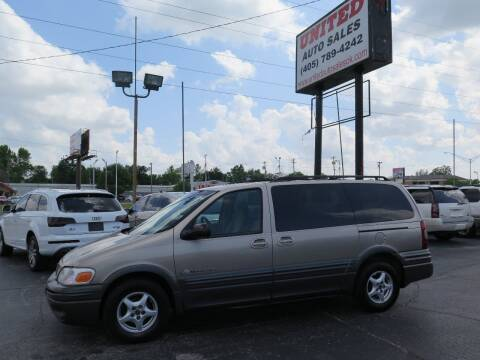 2002 Pontiac Montana for sale at United Auto Sales in Oklahoma City OK