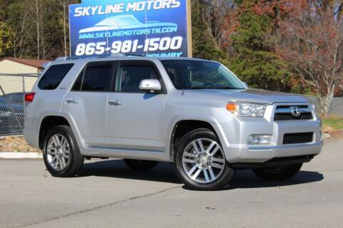 2010 Toyota 4Runner for sale at Skyline Motors in Louisville TN