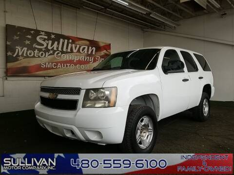 2011 Chevrolet Tahoe for sale at SULLIVAN MOTOR COMPANY INC. in Mesa AZ