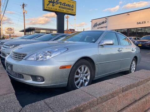 2004 Lexus ES 330 for sale at Abrams Automotive Inc in Cincinnati OH