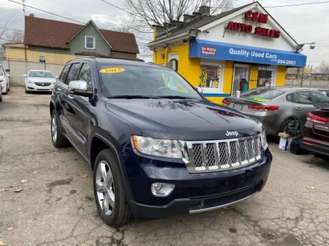2013 Jeep Grand Cherokee for sale at C & M Auto Sales in Detroit MI