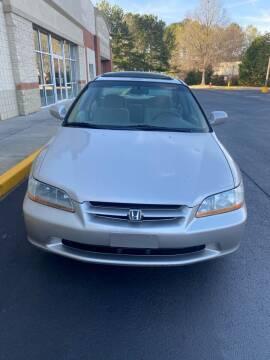 1999 Honda Accord for sale at Dalia Motors LLC in Winder GA