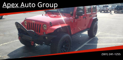2015 Jeep Wrangler Unlimited for sale at Apex Auto Group in Cabot AR