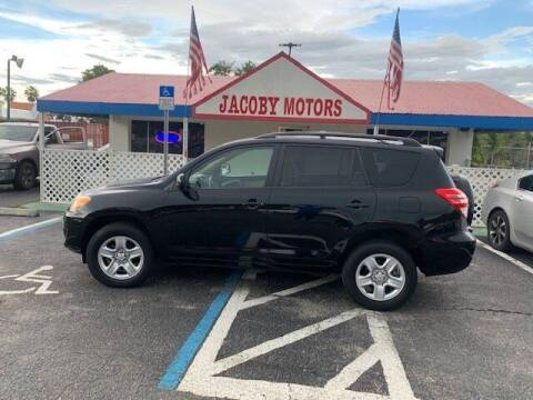 2010 Toyota RAV4 for sale at Jacoby Motors in Fort Myers FL