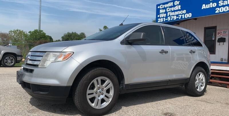 2010 Ford Edge for sale at P & A AUTO SALES in Houston TX