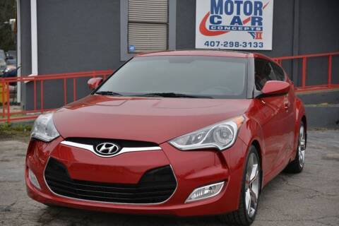 2013 Hyundai Veloster for sale at Motor Car Concepts II - Kirkman Location in Orlando FL
