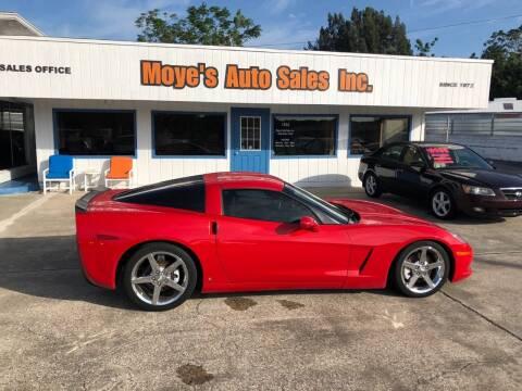 2007 Chevrolet Corvette for sale at Moye's Auto Sales Inc. in Leesburg FL
