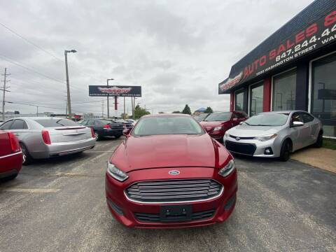 2015 Ford Fusion for sale at Washington Auto Group in Waukegan IL