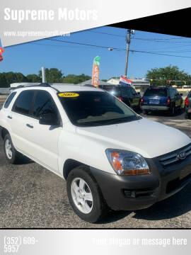 2007 Kia Sportage for sale at Supreme Motors in Tavares FL