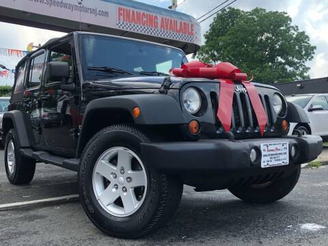 2012 Jeep Wrangler Unlimited for sale at Speedway Motors in Paterson NJ