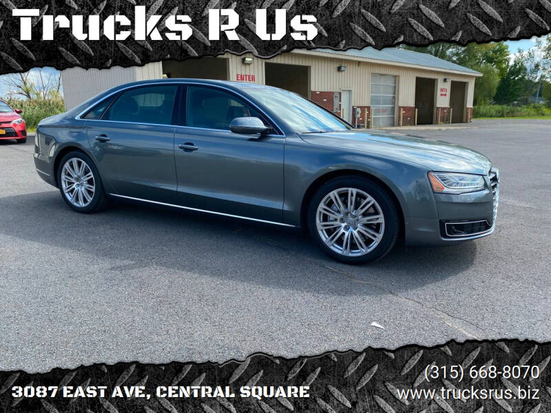 2016 Audi A8 L for sale at Trucks R Us in Central Square NY