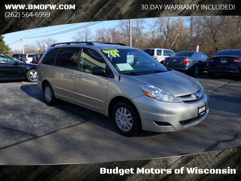 2009 Toyota Sienna for sale at Budget Motors of Wisconsin in Racine WI