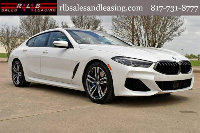 2021 BMW 8 Series for sale at RLB Sales and Leasing in Fort Worth TX