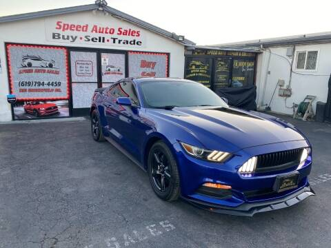 2015 Ford Mustang for sale at Speed Auto Sales in El Cajon CA