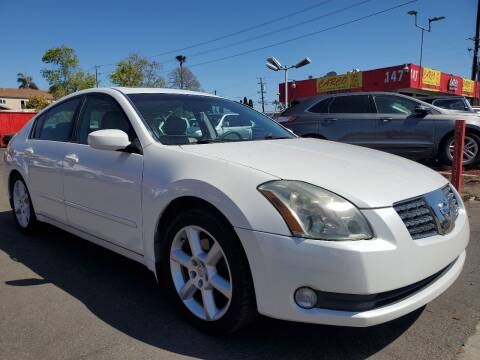 2005 Nissan Maxima for sale at CARCO SALES & FINANCE #2 in Chula Vista CA