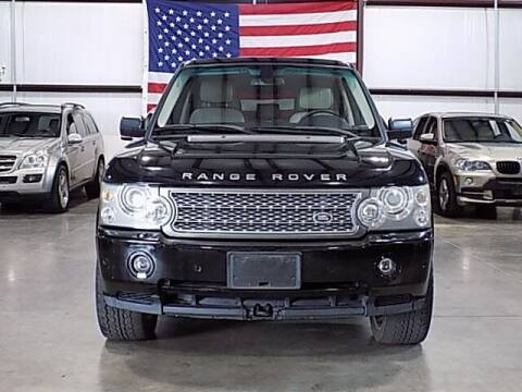 2006 Land Rover Range Rover for sale at Texas Motor Sport in Houston TX