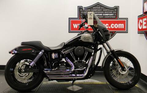 2016 Harley-Davidson DYNA STREETBOB for sale at Certified Motor Company in Las Vegas NV