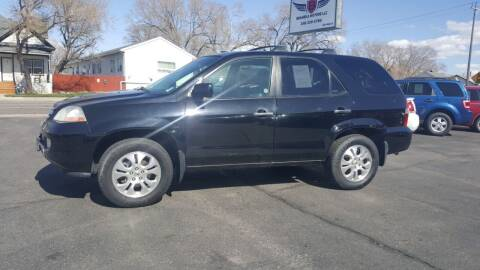 2003 Acura MDX for sale at BRAMBILA MOTORS in Pocatello ID