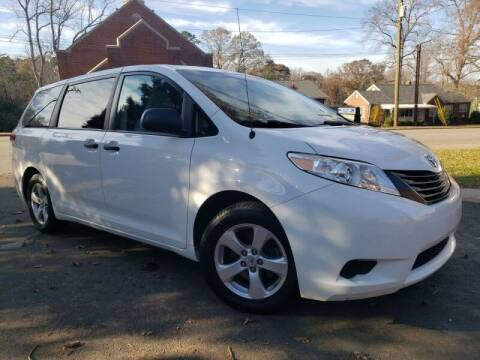 2012 Toyota Sienna for sale at McAdenville Motors in Gastonia NC