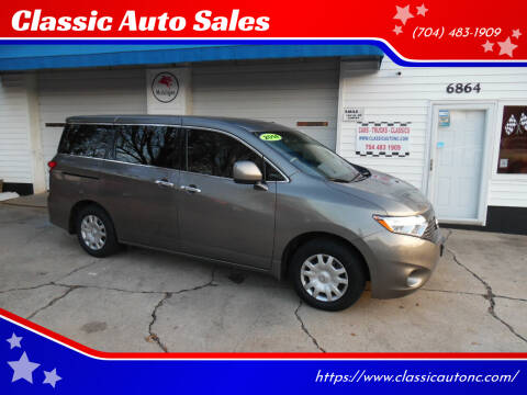 2014 Nissan Quest for sale at Classic Auto Sales in Maiden NC