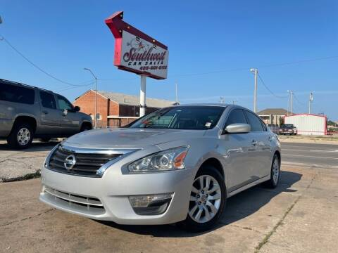 2014 Nissan Altima for sale at Southwest Car Sales in Oklahoma City OK