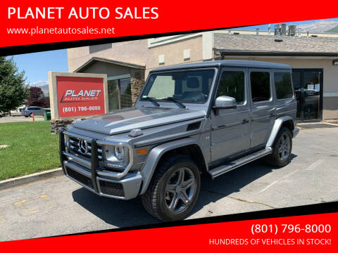 2018 Mercedes-Benz G-Class for sale at PLANET AUTO SALES in Lindon UT