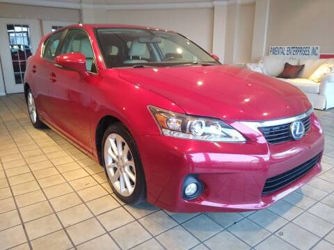 2011 Lexus CT 200h for sale at Town Motors in Hamilton OH
