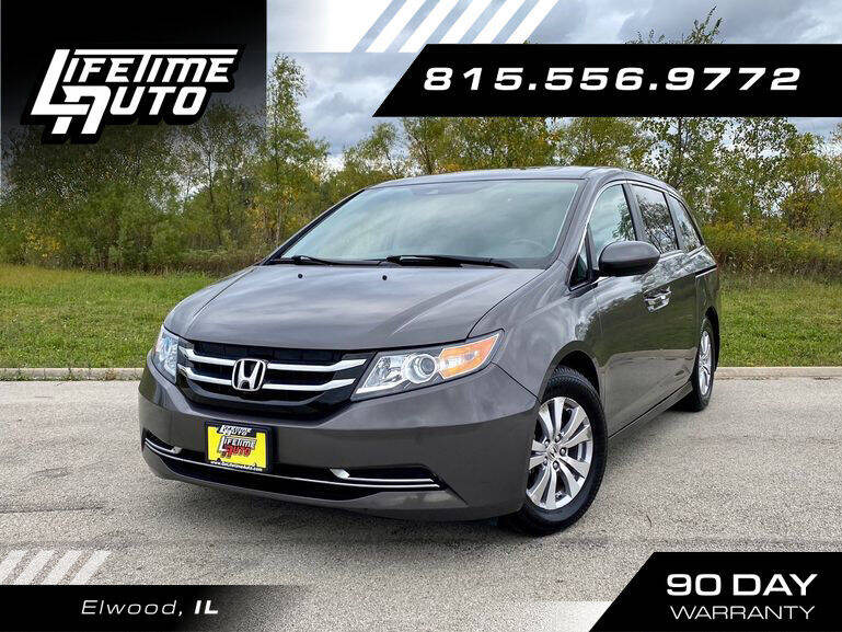 2014 Honda Odyssey for sale at Lifetime Auto in Elwood IL