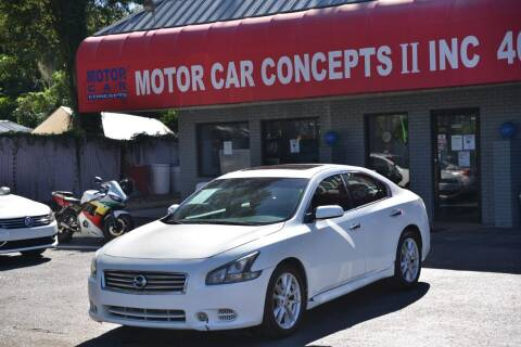 2014 Nissan Maxima for sale at Motor Car Concepts II - Apopka Location in Apopka FL