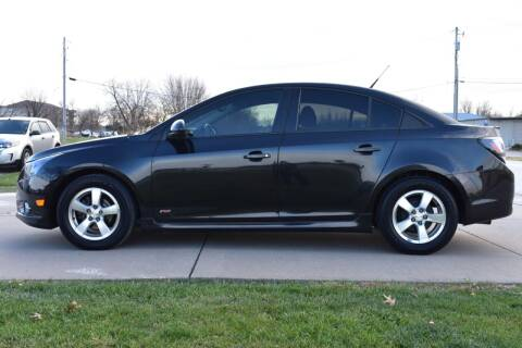 2013 Chevrolet Cruze for sale at QUAD CITIES AUTO SALES in Milan IL