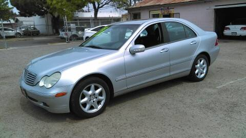 2003 Mercedes-Benz C-Class for sale at Larry's Auto Sales Inc. in Fresno CA