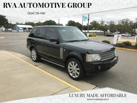2007 Land Rover Range Rover for sale at RVA Automotive Group in North Chesterfield VA