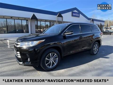 2017 Toyota Highlander for sale at Impex Auto Sales in Greensboro NC