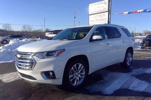 2018 Chevrolet Traverse for sale at Premier Auto Sales Inc. in Big Rapids MI