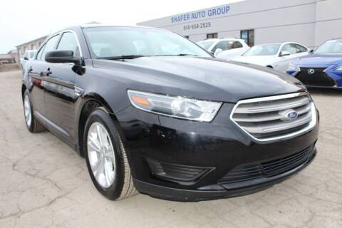 2016 Ford Taurus for sale at SHAFER AUTO GROUP in Columbus OH