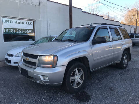 2007 Chevrolet TrailBlazer for sale at JMD Auto LLC in Taylorsville NC