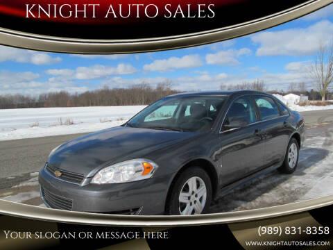 2010 Chevrolet Impala for sale at KNIGHT AUTO SALES in Stanton MI