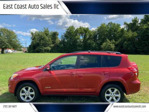2011 Toyota RAV4 for sale at East Coast Auto Sales llc in Virginia Beach VA