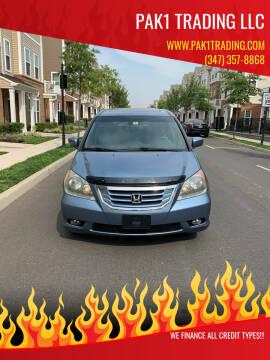 2008 Honda Odyssey for sale at Pak1 Trading LLC in South Hackensack NJ