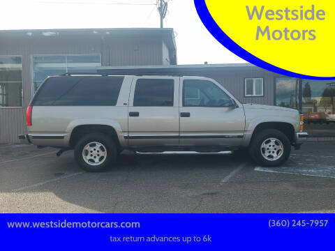 1999 Chevrolet Suburban for sale at Westside Motors in Mount Vernon WA
