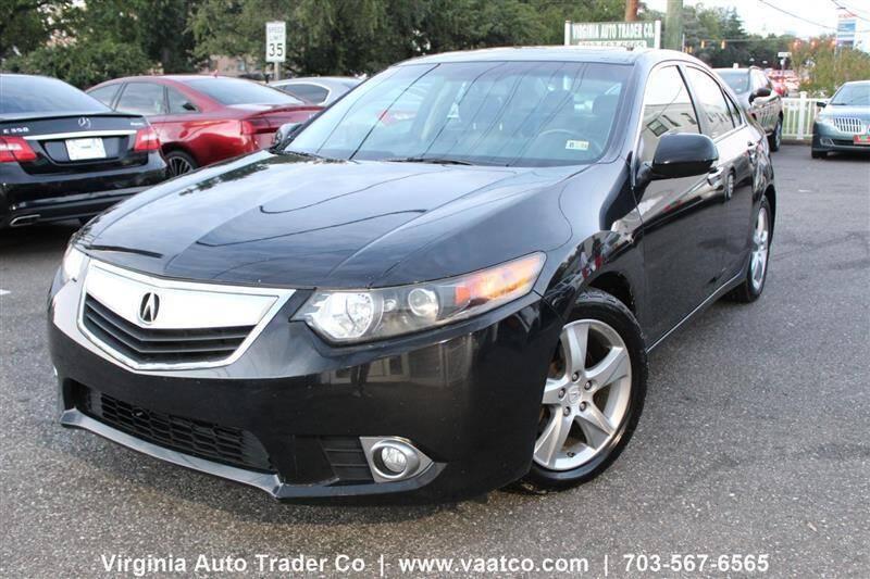 2012 Acura TSX for sale at Virginia Auto Trader, Co. in Arlington VA