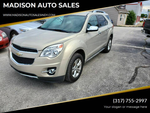 2010 Chevrolet Equinox for sale at MADISON AUTO SALES in Indianapolis IN