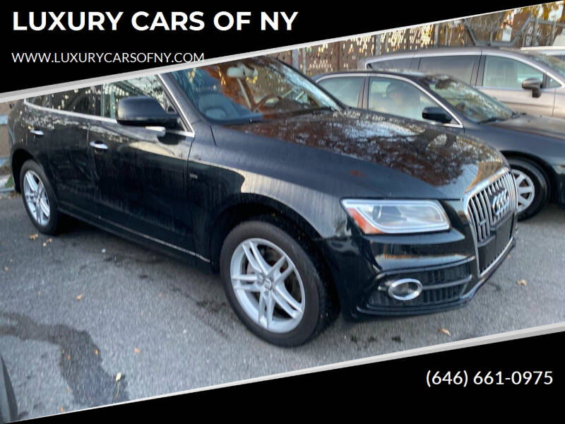 2017 Audi Q5 for sale at LUXURY CARS OF NY in Queens NY
