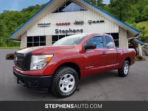 2017 Nissan Titan for sale at Stephens Auto Center of Beckley in Beckley WV
