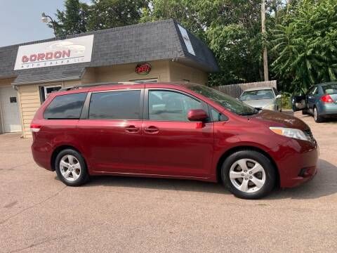 2011 Toyota Sienna for sale at Gordon Auto Sales LLC in Sioux City IA