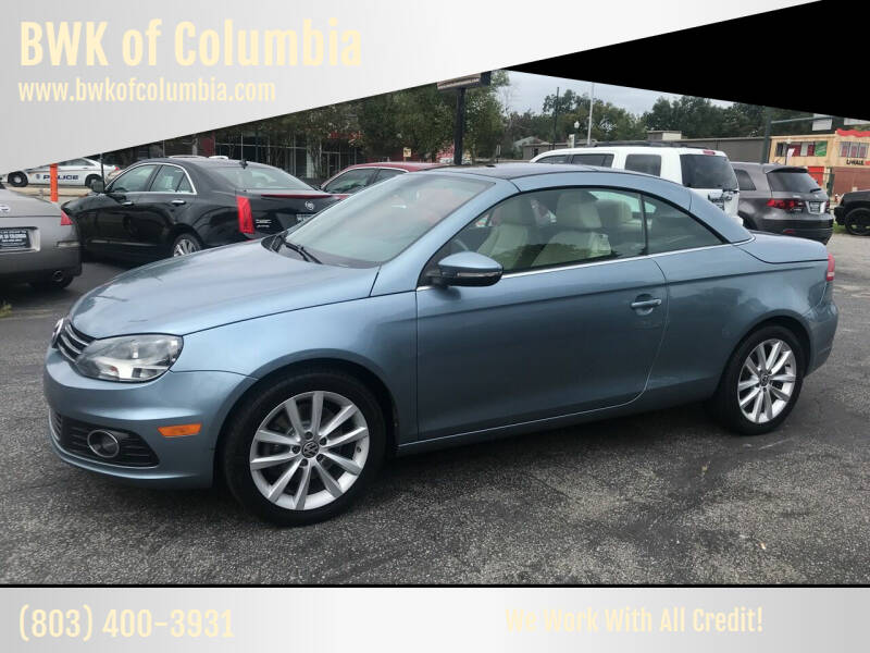 2012 Volkswagen Eos for sale at BWK of Columbia in Columbia SC